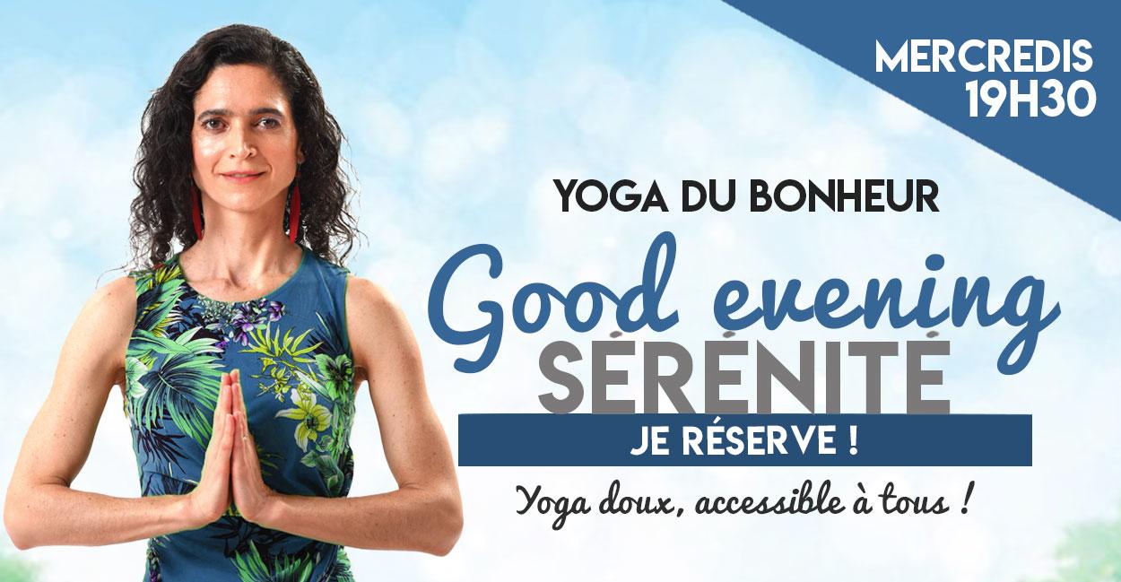 Carolina de la Cuesta Cultiver Son Bonheur Yoga du Bonheur Paris Soir
