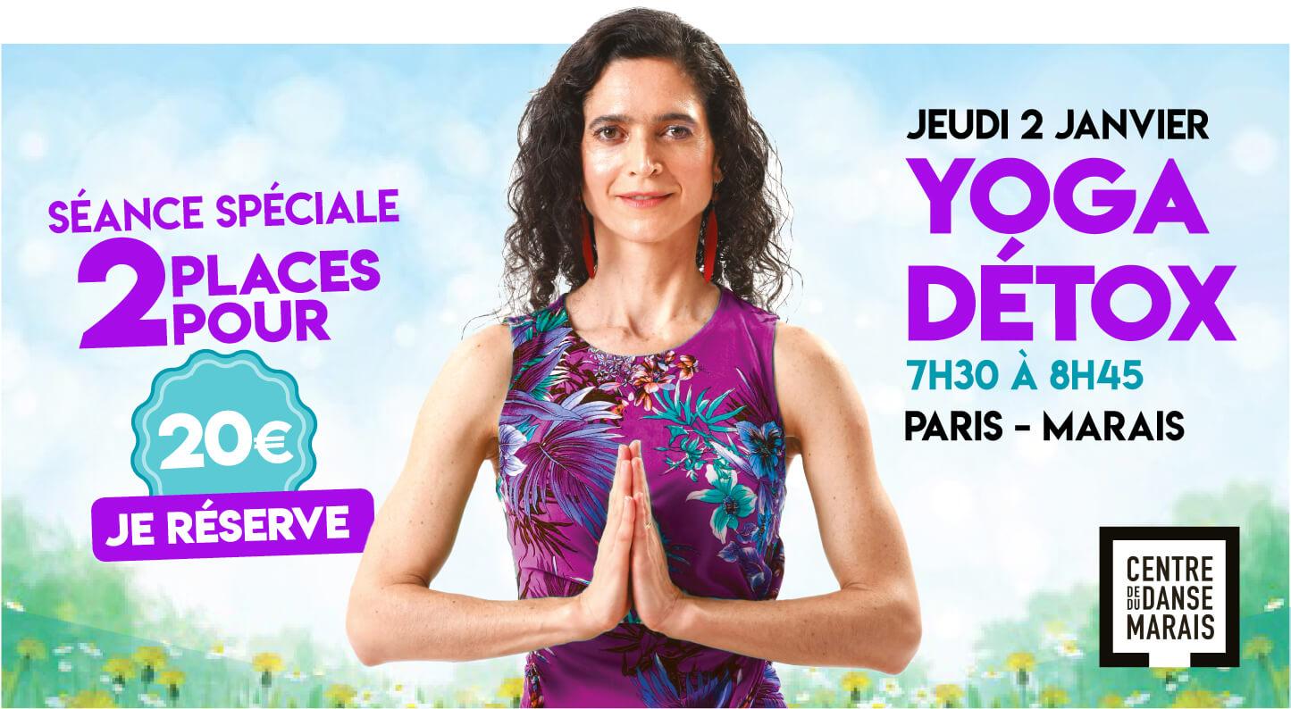 Cultiver Son Bonheur Carolina de la Cuesta Yoga Detox