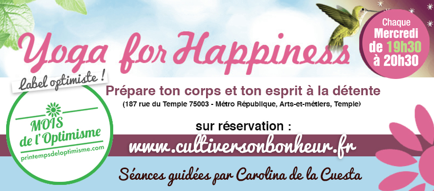 CultiverSonBonheur Happyculture Printemps Optimisme 2018