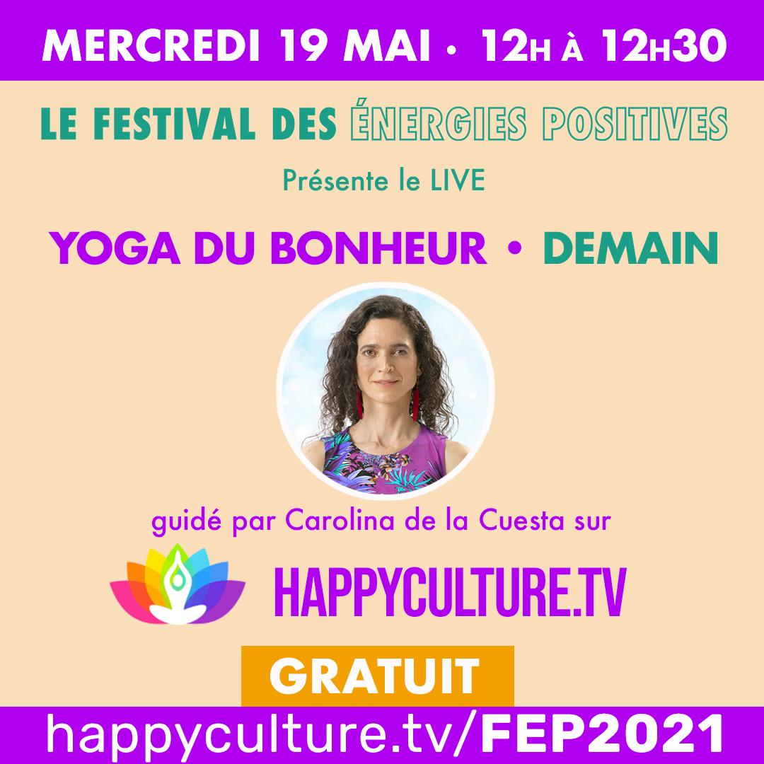 Festival des Energies Positives by Le Printemps de l'Optimisme - Happyculture.tv