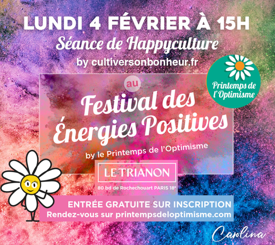 Happyculture Cultiver Son Bonheur Printemps Optimisme Carolina de la Cuesta