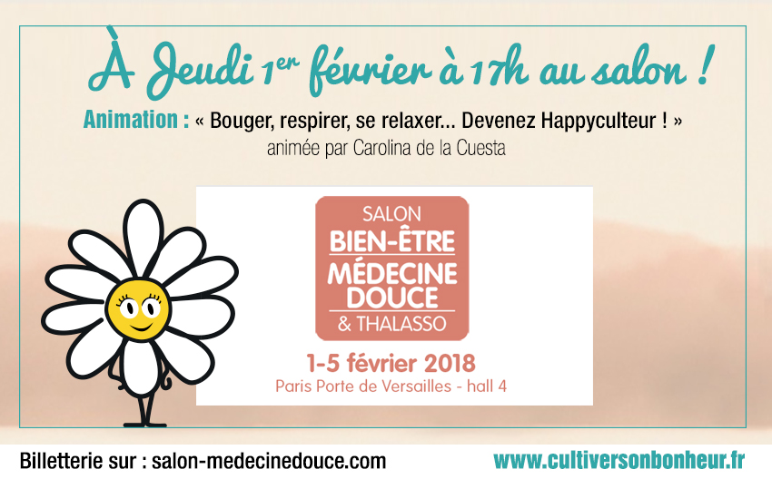 Happyculture Salon Medecine Douce 2018