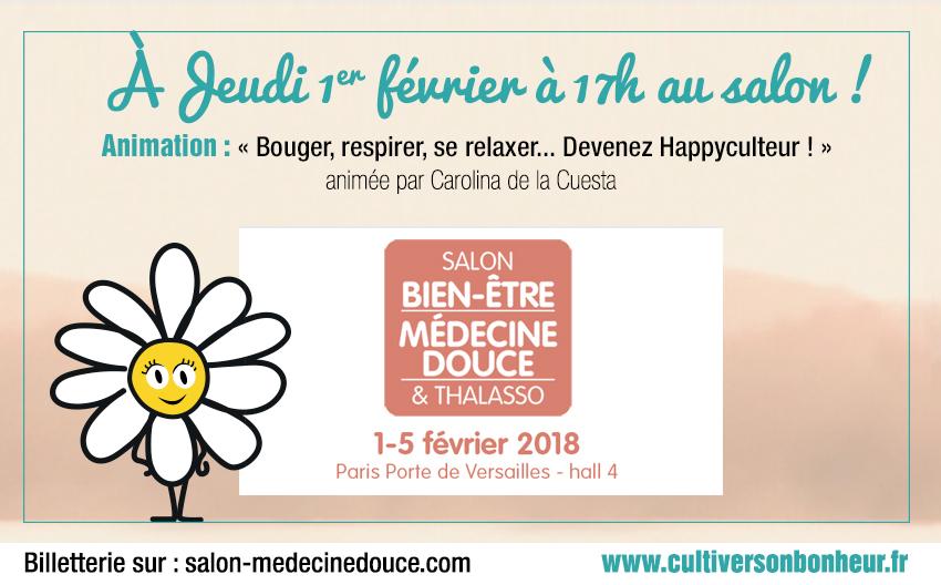 Happyculture Salon Medecine Douce 2018
