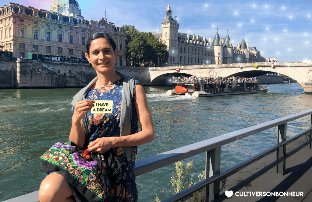 Yoga Rêves Bonheur Carolina de la Cuesta Cultiver Son Bonheur Happyculture Paris Rêver