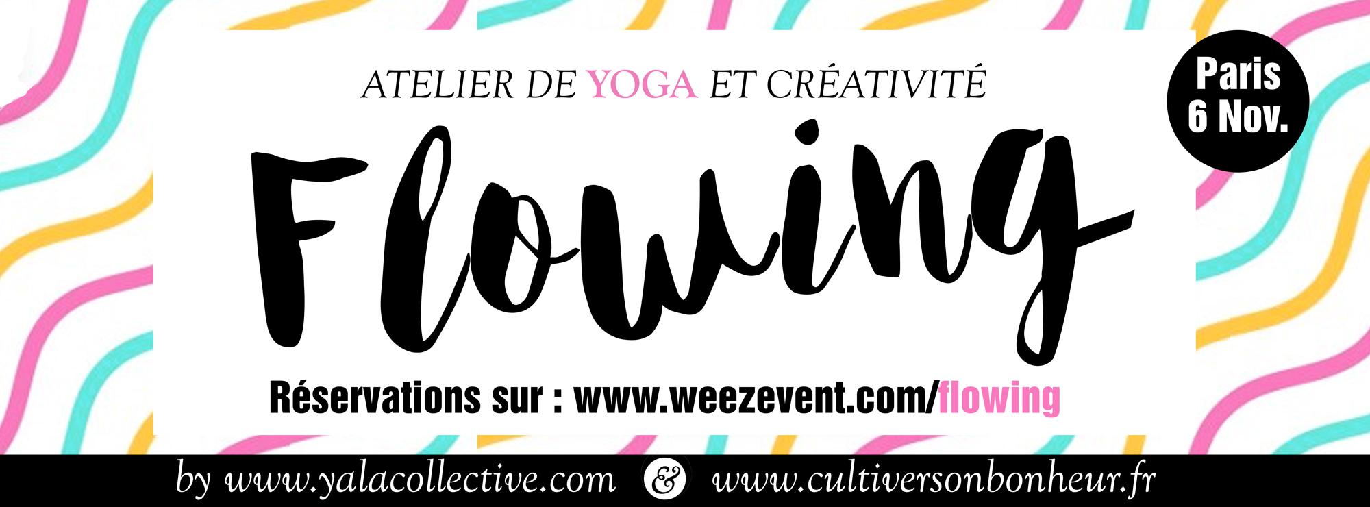 Yoga et créativité à Paris - Cultiver Son Bonheur - Carolina de la Cuesta
