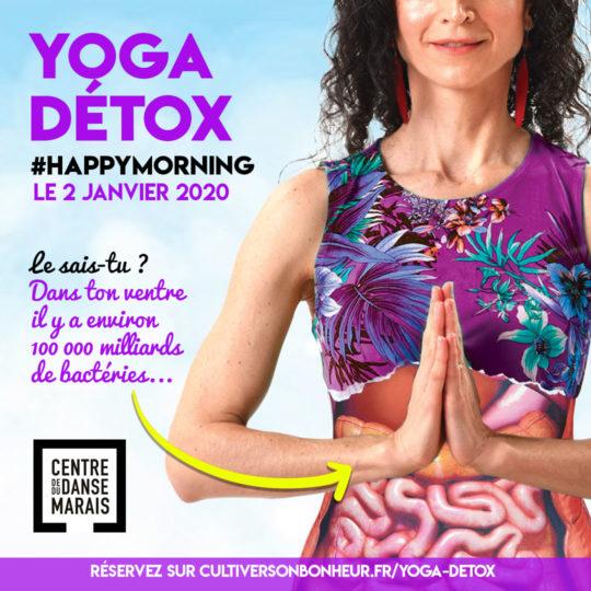 Cultiver Son Bonheur Yoga Carolina de la Cuesta Paris Bonne Annee 2020