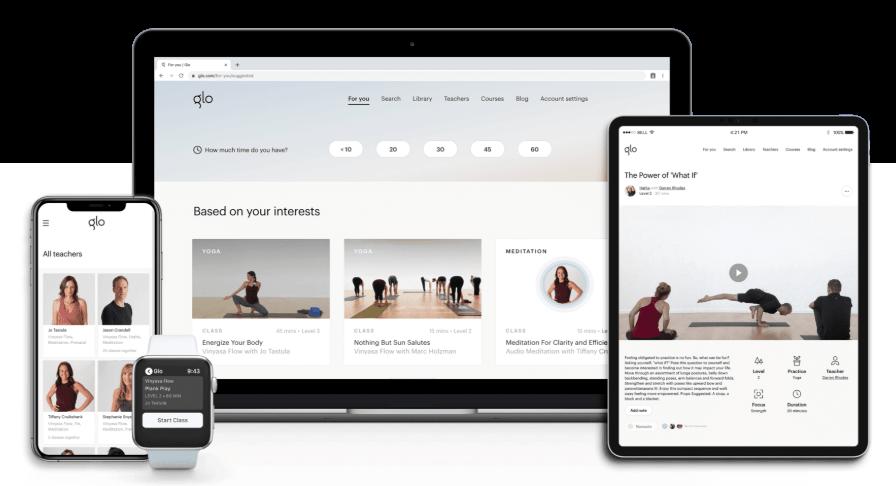 Glo Yoga Online Recommandé par Carolina de la Cuesta