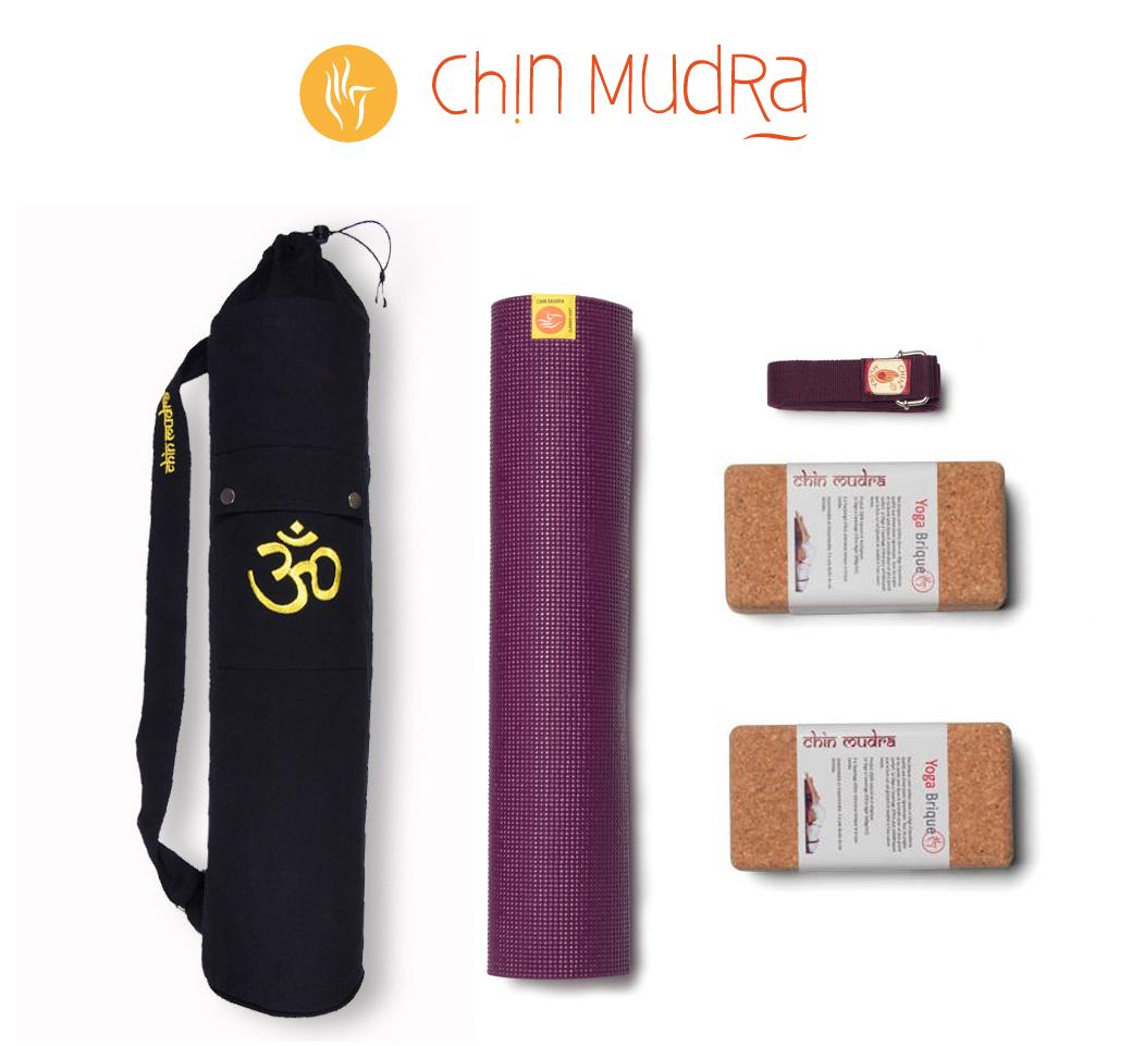 Equipement Yoga - Tapis Yoga - Chin Mudra - Happyculture - Yoga - Paris - Carolina de la Cuesta - Cultiver Son Bonheur