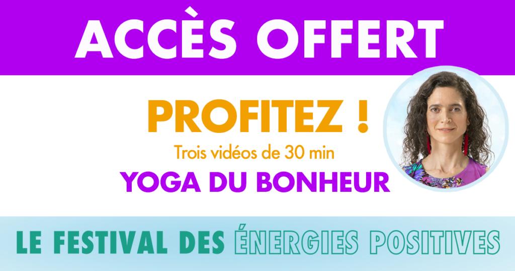 YOGA GRATUIT Festival des Energies Positives by Le Printemps de l'Optimisme - Happyculture.tv